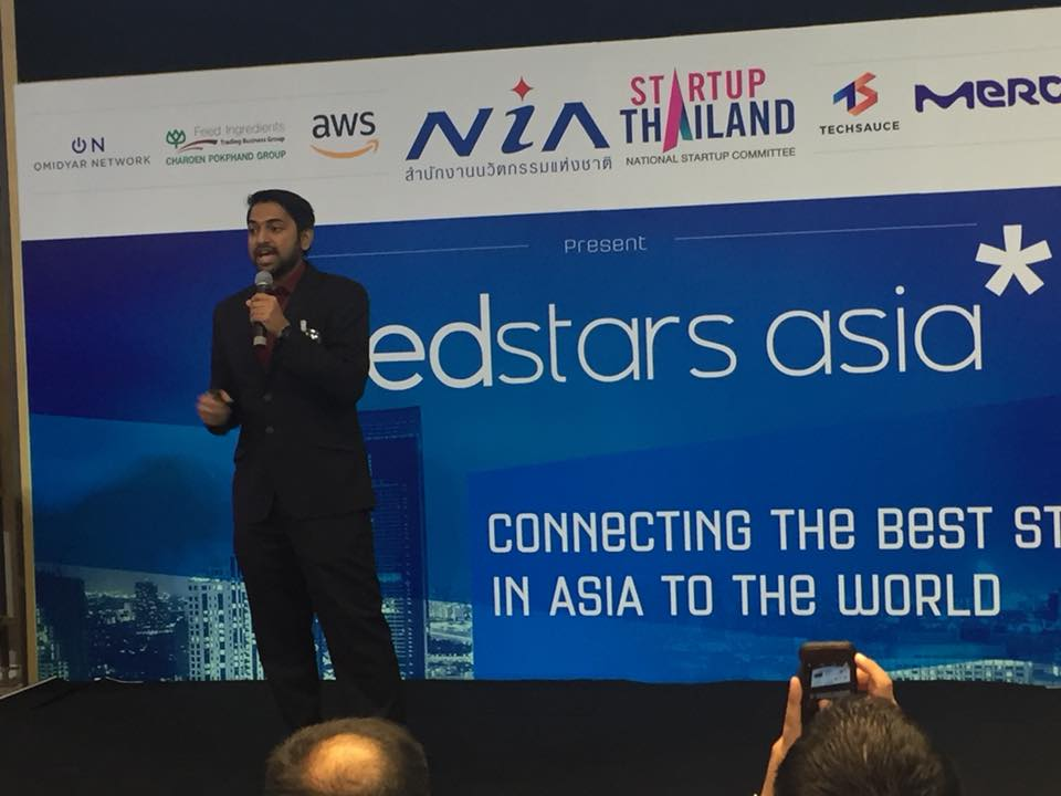 CMED pitching at the Meeting of SeedStars Asia Summit, Bangkok